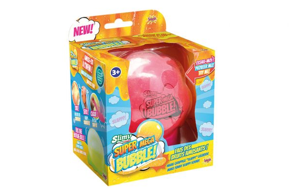Slimy super mega bubble bulle slime