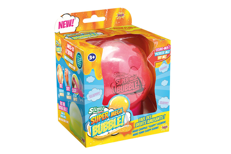 Slimy super mega bubble bulle slime
