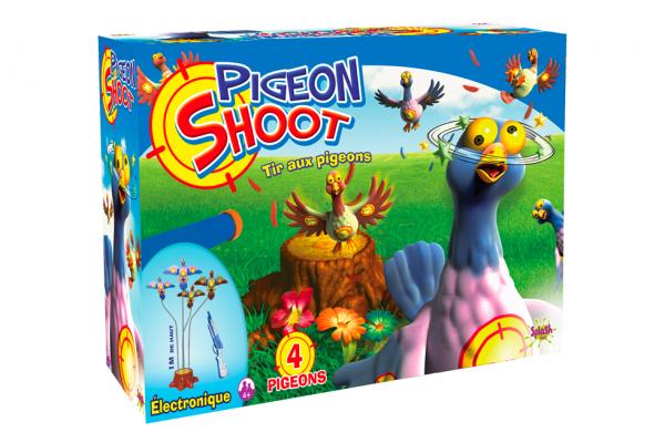 Tir aux pigeons – 4 pigeons
