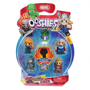 Pack de 6 XL Marvel