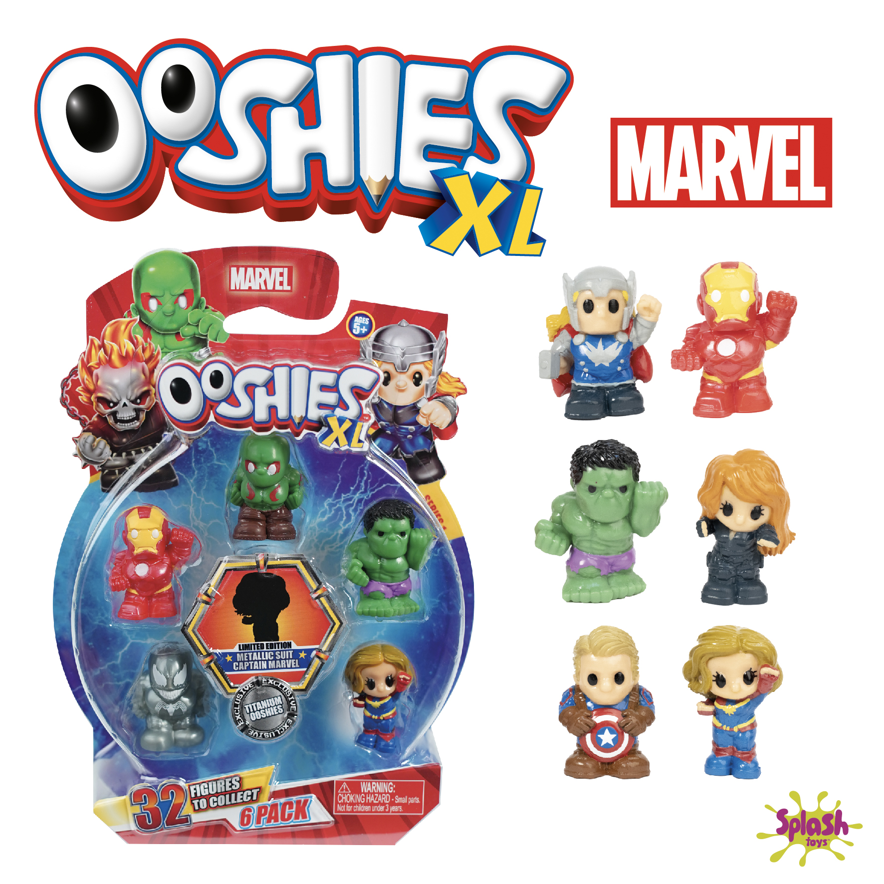 Ooshies XL Marvel