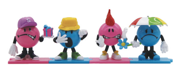 Blister 3 figurines