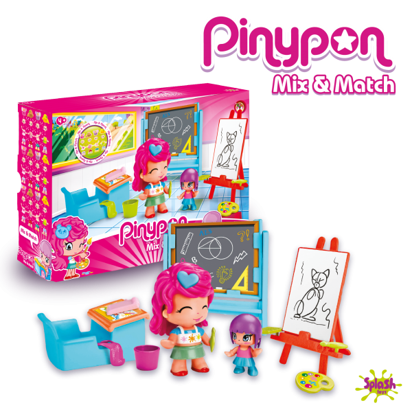 Pinypon - Ecole de peinture