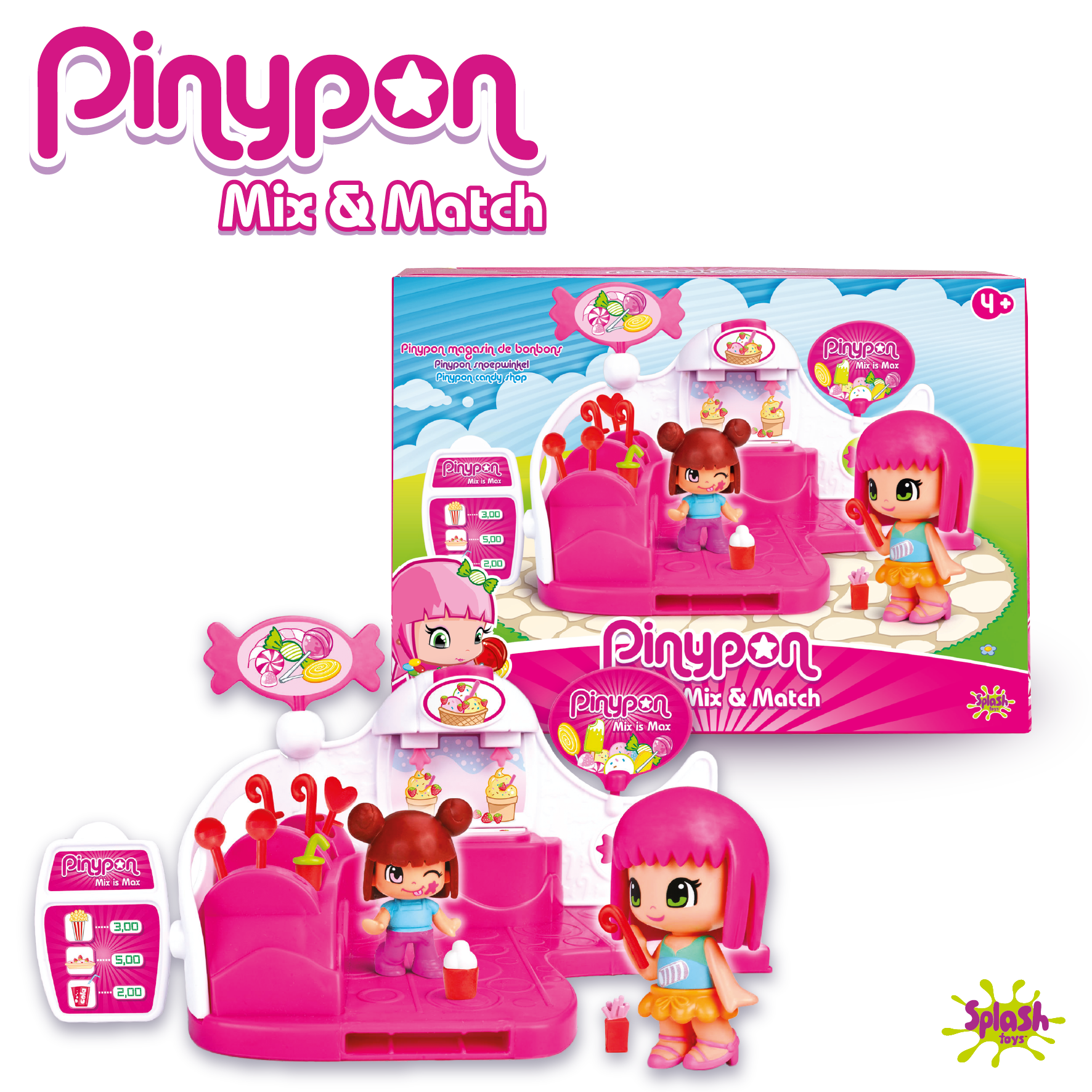 Pinypon - Magasin de bonbons