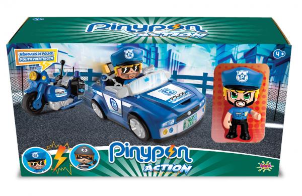 Pinypon Action Véhicule de police