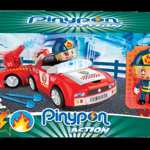 Pinypon Action Véhicule pompier