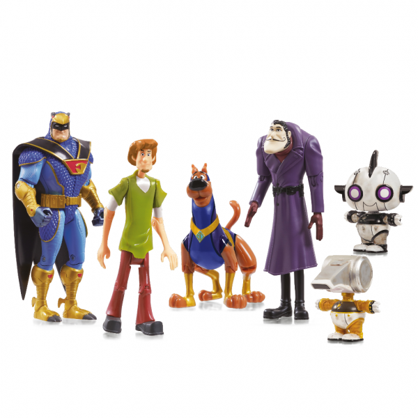 Scooby-Doo Pack 6 figurines