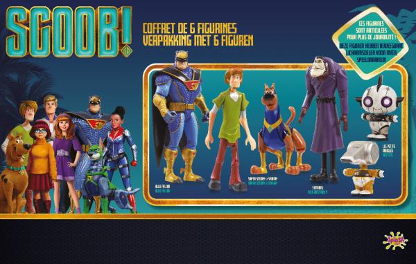 Scooby-Doo Pack 6 figurines