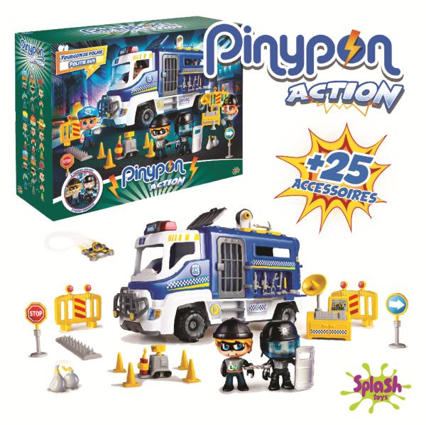 Pinypon Action Fourgon police